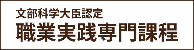 文部科学大臣認定職業実践専門課程